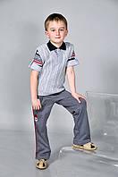 Детская вязанная жилетка для мальчиков и девочек