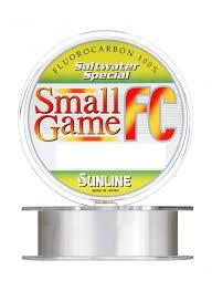 Флюорокарбон Sunline SWS Small Game FC 150м матч/тонущ. 0.128 мм 2.0 LB