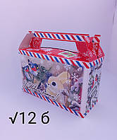 Упаковка для конфет Новый год 200-300 грамм, фото 1