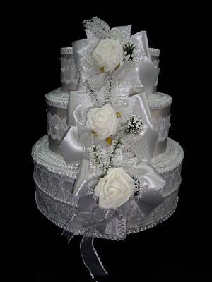 Тортики для денег на свадьбу