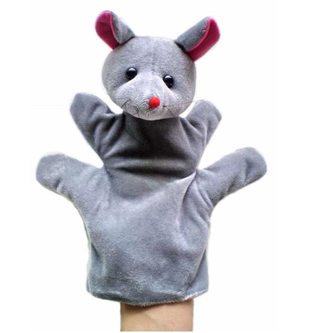 Мягкая игрушка на руку Кукольный театр Мышка