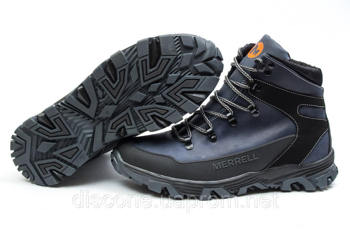 Зимние мужские ботинки 30341 ► Merrell Shiver, темно-синие ✅SALE! % ► [ нет в наличии ]