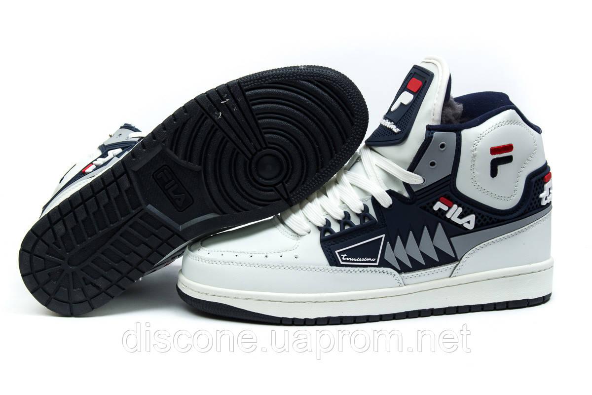 Зимние ботинки ► FILA Turismo,  белые (Код: 30353) ►(нет на складе) П Р О Д А Н О!