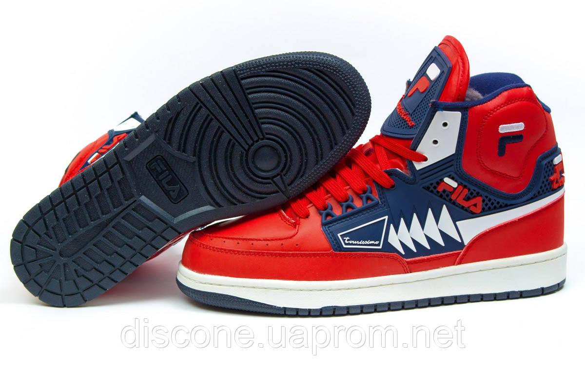 Зимние ботинки ► FILA Turismo,  красные (Код: 30354) ►(нет на складе) П Р О Д А Н О!