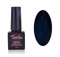 Гель-лак Tertio 7 мл № 082 черный с синевой