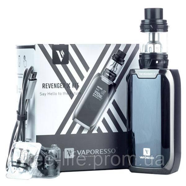 Vaporesso Revenger X Kit with NRG Tank. Original 100%. Цвет: silver