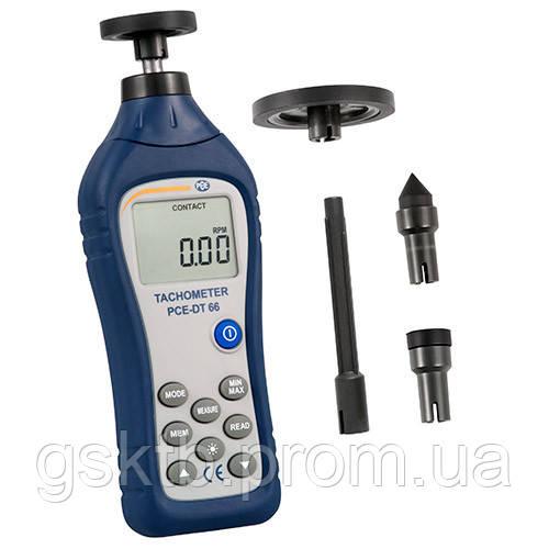 Тахометр контактный PCE-DT 66
