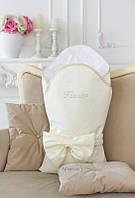 Конверт-одеяло для новорожденного, весна/осень