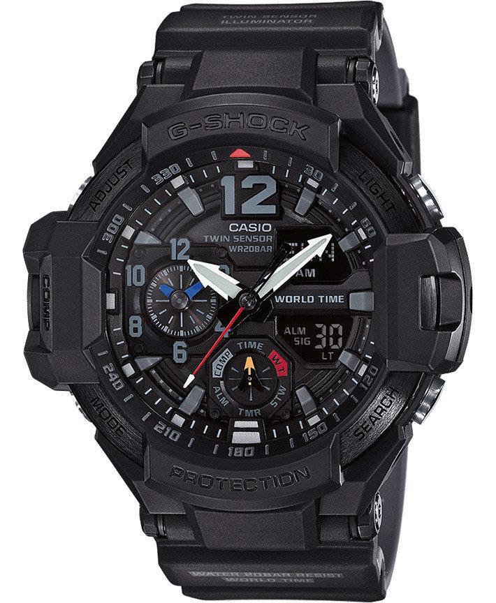 Часы Casio G-Shock GA-1100-1A1 Gravity Master