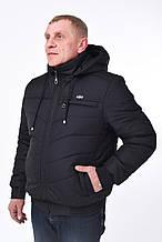 Мужская демисезонная куртка, р.50-56, чёрный