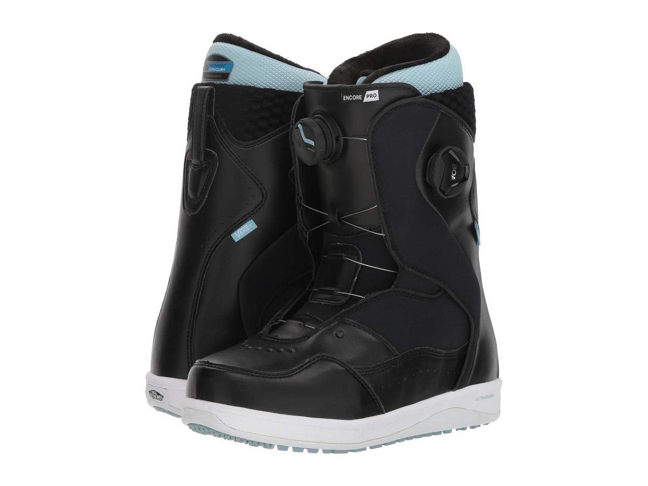 Ботинки/Сапоги (Оригинал) Vans Encore™ Pro '18 Black/Light Blue