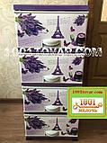 Комод пластиковый Еlif, с рисунком PARIS (Париж), фото 2