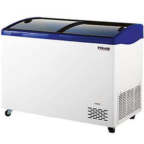 Ларь морозильный Полаир Standard с изогнутыми стеклами DF130SC-S