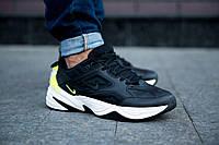 Кроссовки мужские Nike M2K Tekno кожаные Найк (Реплика ААА+)
