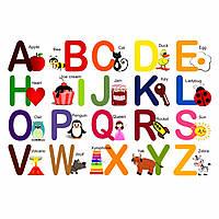 Английская магнитная азбука, 26шт