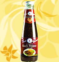 Перечный соус для вок, Блек пейпер, Пейпер соус, Thai Dancer, 300 мл, Дж