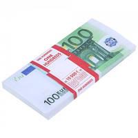 Сувенирные деньги, Евро номиналом 100, 200, 500.