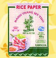 Рисовая бумага,плетенная, квадратная,  22см, 400 г, Дж