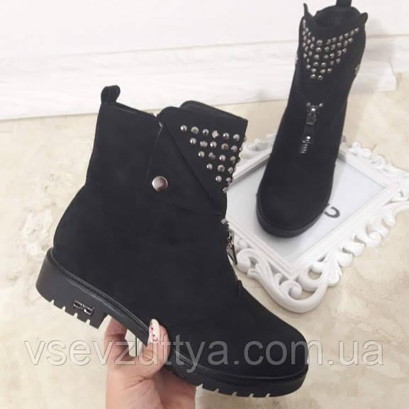 b4d46d6a989618 Черевики жіночі чорні зимові. Тільки 41 розмір!: продажа, цена в ...