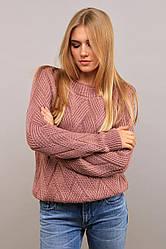 Женский свитер интернет магазин крупная вязка