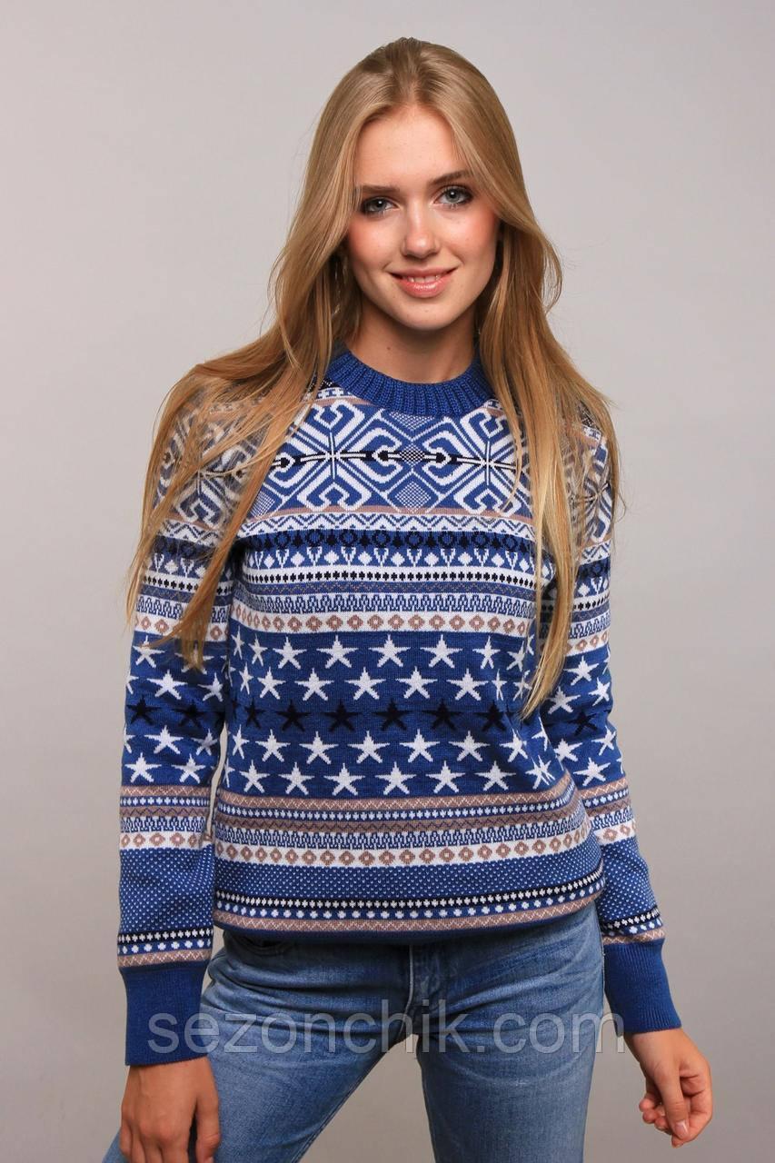 Женский свитер модный молодежный 44-48