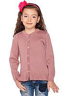 Трикотажна дитяча кофта для дівчинки, фото 1