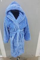 Детский махровый халат Velsoft Zeron голубой