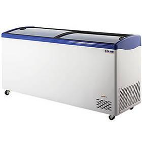 Ларь морозильный Polair Standard с изогнутыми стеклами DF150SC-S