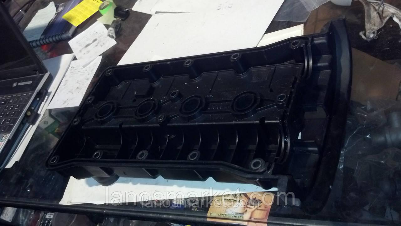 Крышка клапанная Ланос, Нубира 1,6 DOHC (пластик) (GM) б/у