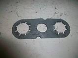 Пластина стопорная на болты рулевой рейки Ланос (GM) б/у, фото 3