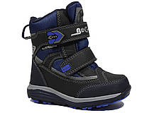 Термоботинки B&G арт.HL197-912 gray-blue, Серый, 28, 18.5