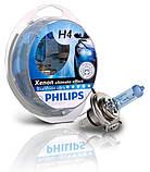 "Автомобильные галогеновые лампы ""PHILIPS""(H4)(Blue Vision Ultra)(4000K) (12V)(60/55W), фото 2"