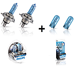 "Автомобильные галогеновые лампы ""PHILIPS""(H4)(Blue Vision Ultra)(4000K) (12V)(60/55W), фото 4"