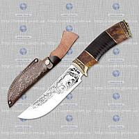 Охотничий нож Медведь (кожа) MHR /0-03
