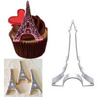 Каттер металл  Париж для пряников и печенья, фото 1