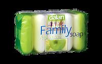 Мыло туалетное Dalan Family 5*75г. Яблоко (экопак)
