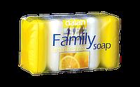 Лимонное мыло туалетное в наборе Dalan Family 5*75 грамм Экопак