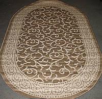 Безворсовый кухонный ковер Рогожка Sisal 1429