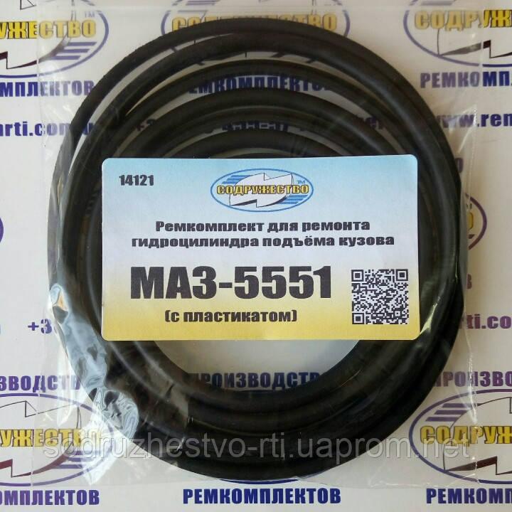 Ремкомплект гидроцилиндра подъёма кузова МАЗ-5551