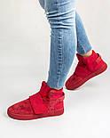 Кросівки Adidas Tubular Invader Red. Живе фото. Топ якість! (Репліка ААА+), фото 3