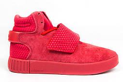 Кроссовки Adidas Tubular Invader Red. Живое фото. Топ качество! (Реплика ААА+)