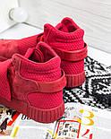 Кросівки Adidas Tubular Invader Red. Живе фото. Топ якість! (Репліка ААА+), фото 6