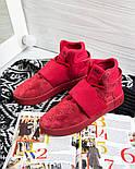 Кросівки Adidas Tubular Invader Red. Живе фото. Топ якість! (Репліка ААА+), фото 4