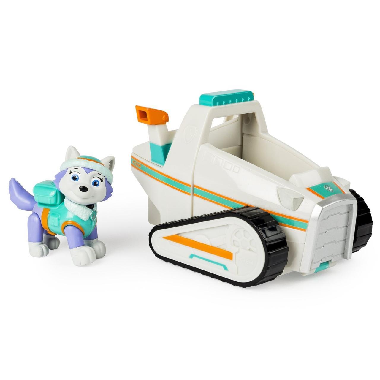 Игровой набор Paw Patrol. Everest's Rescue Snowmobile, Vehicle. (Щенячий патруль. Эверест с машинкой)