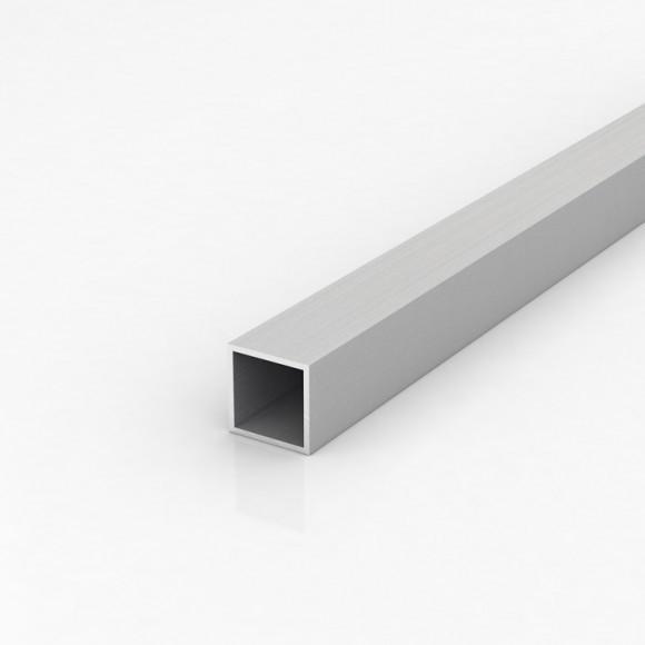 Алюмінієва труба квадратна 30х30мм товщиною стінки 2мм анодована
