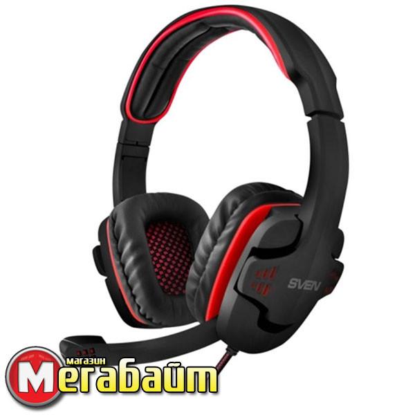 Гарнитура SVEN AP-G855MV Black/Red