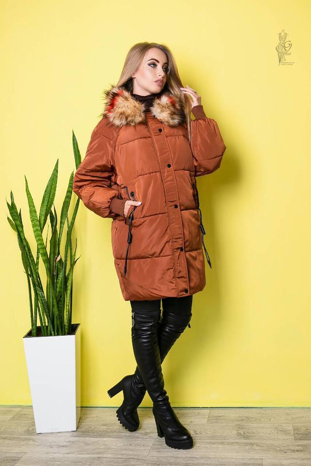 Фото Куртки зимней женской теплой Пафи-1