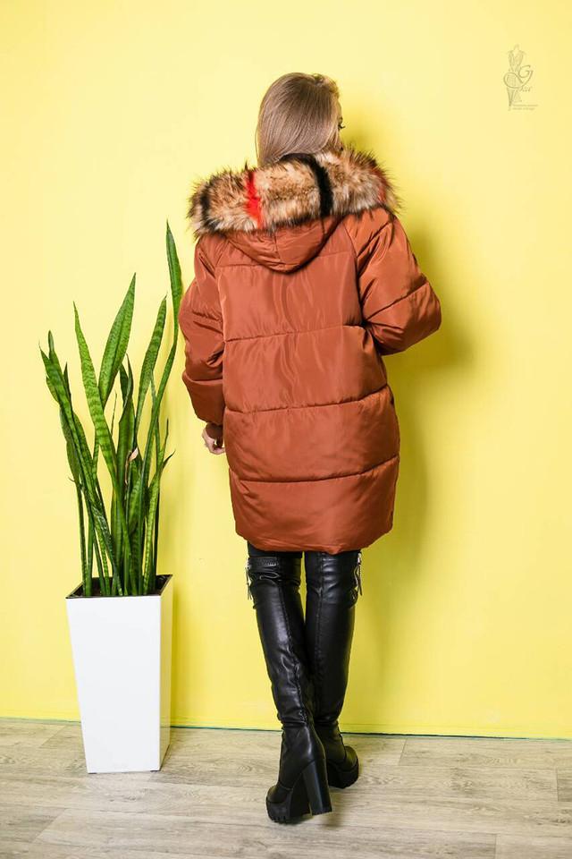 Фото-1 Куртки зимней женской теплой Пафи-1