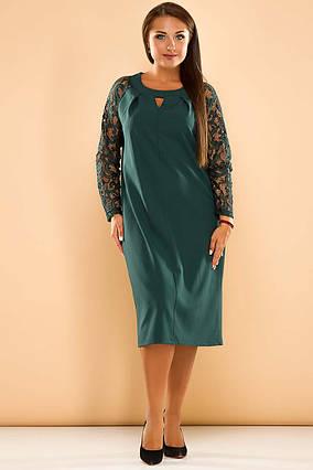 ee43130adf7 Элегантное женское платье в больших размерах