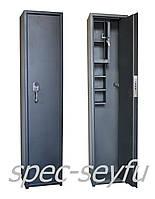 Сейф оружейный усиленный с фальш-панелью СО 132/2К+3п+Ф